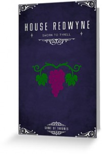 "House Redwyne: ""In Grape we trust"""